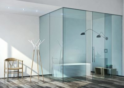 Tempered Glass Shower Enclosures